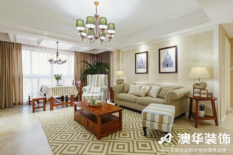 客厅图片来自澳华装饰有限公司在海伦春天·加州阳光的分享