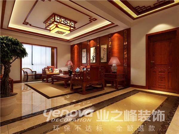 客厅图片来自太原业之峰诺华装饰杨丽茹在典雅韵味的分享