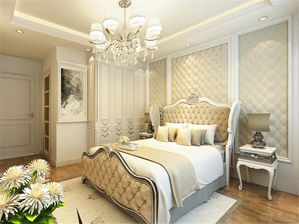 卧室图片来自阳光力天装饰在北欧风格 招商依云郡 139.00㎡的分享