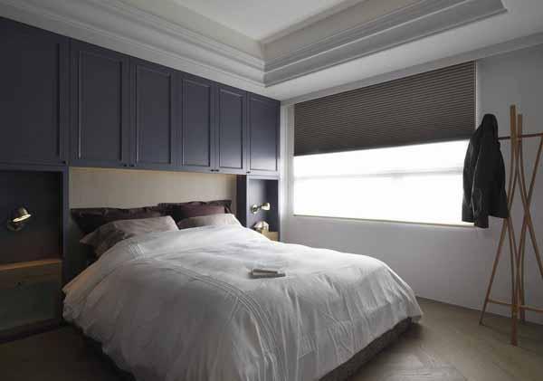 旧房改造 卧室图片来自上海潮心装潢设计有限公司在56平北欧一居室装修还予舒适空间的分享