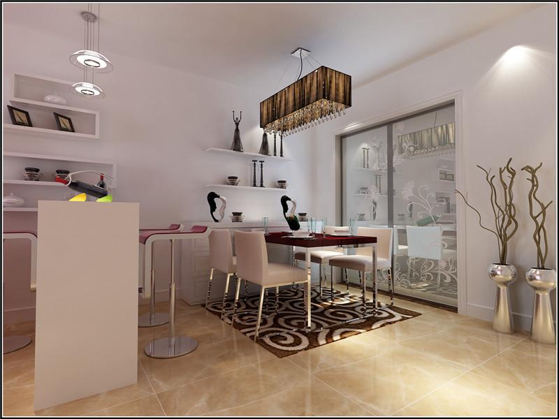 二居 简约 现代 餐厅图片来自居然元洲装饰小杨在天天家园二室一厅现代简约风格的分享