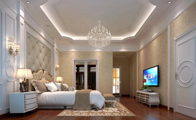 北欧 大气 实用 别墅 卧室图片来自惠州居众装饰在心境·山水郡-北欧风格-480㎡的分享