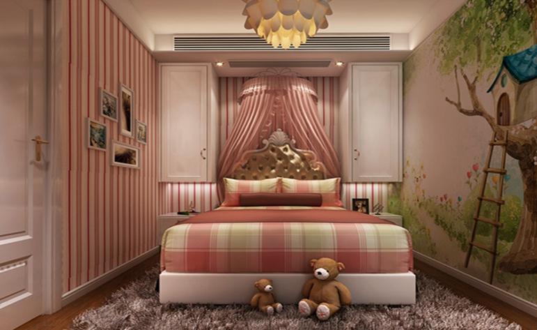 简约 现代 二居 儿童房图片来自居众装饰WX在融创熙园-现代简约风格-90㎡的分享