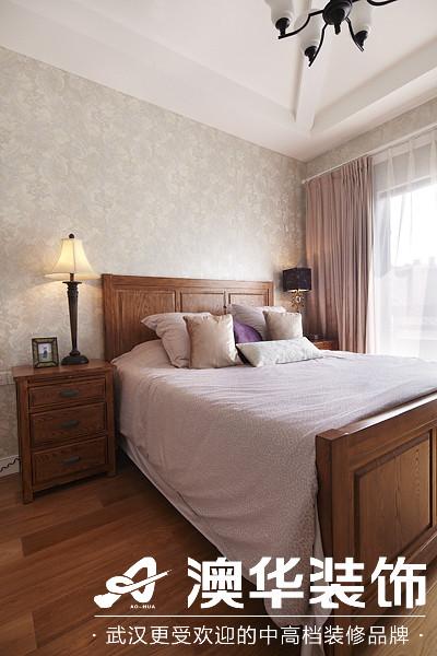 卧室图片来自澳华装饰有限公司在楚天都市沁园·现代风格的分享