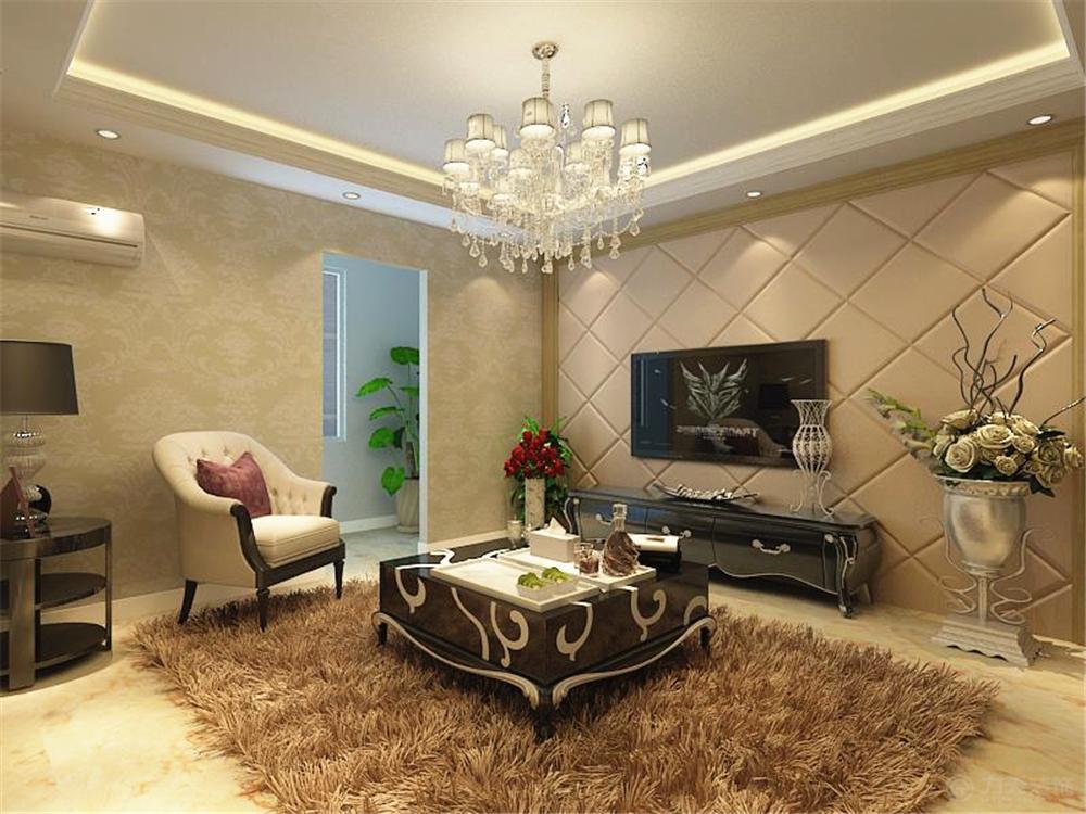 客厅图片来自阳光力天装饰在北欧风格 招商依云郡 139.00㎡的分享