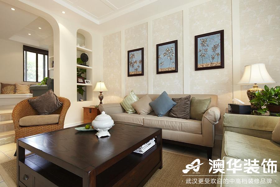 客厅图片来自澳华装饰有限公司在楚天都市沁园·现代风格的分享