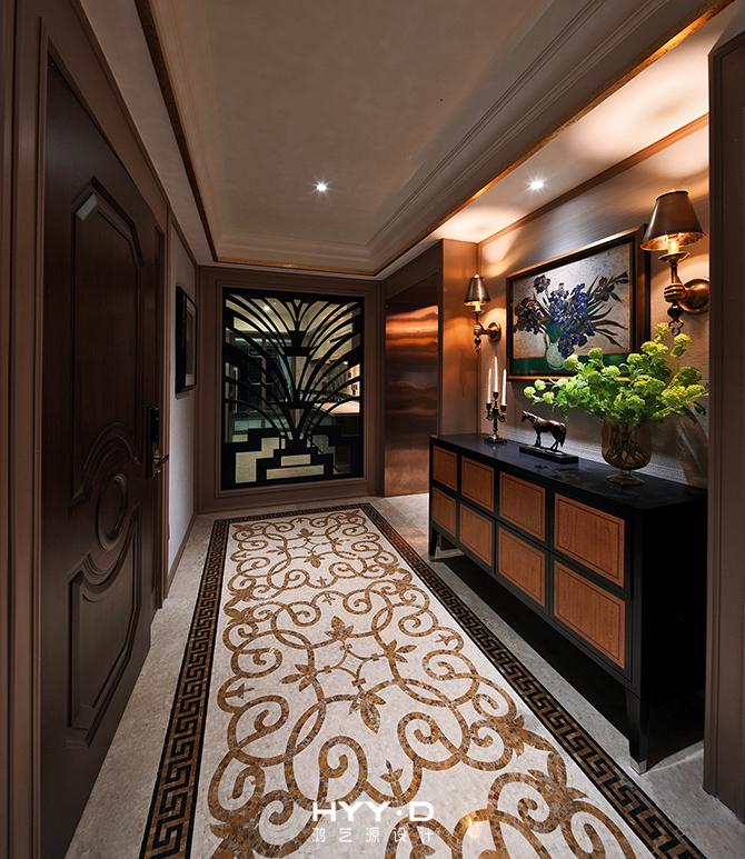 玄关 新古典 玄关图片来自郑鸿设计师在御墅临风--卓越维港名苑室内设计的分享