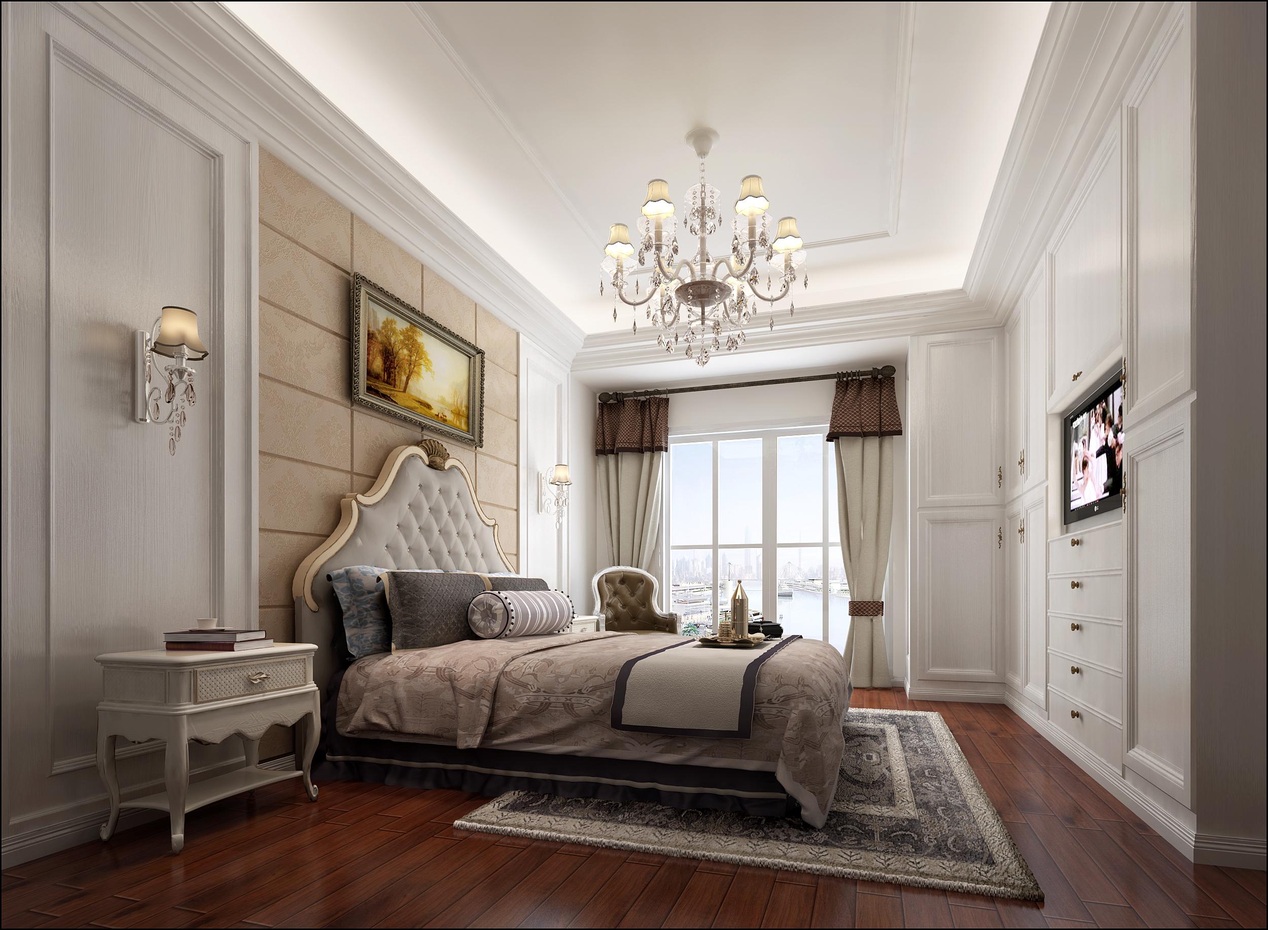 混搭 卧室图片来自福州有家装饰-小彭在汇诚雅园的分享