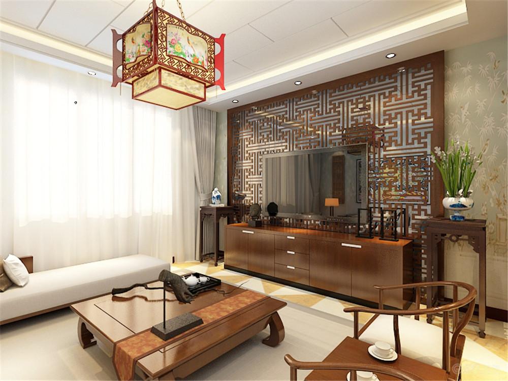 客厅图片来自阳光力天装饰在中式风格  智造创想城 72㎡的分享