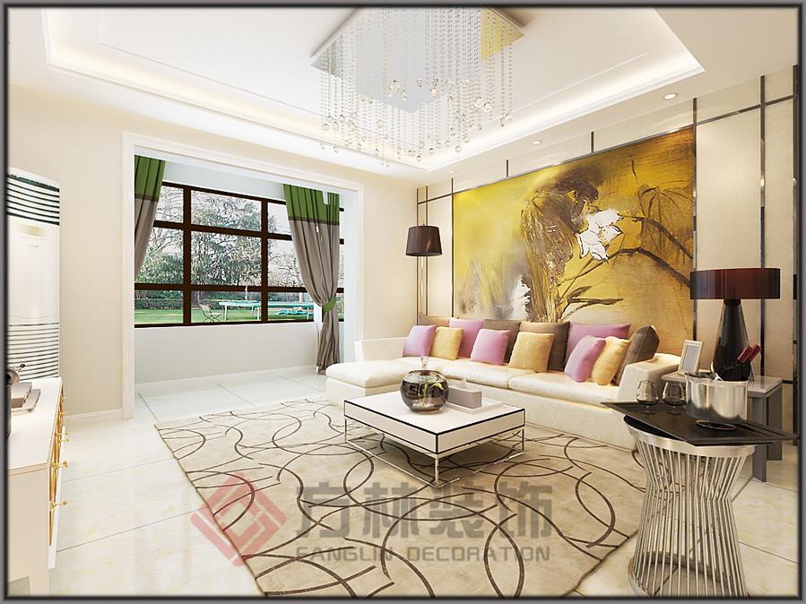 简约 混搭 白领 收纳 三居 80后 小资 客厅图片来自方林装饰在碧桂园凤凰城117平米低调奢华风的分享