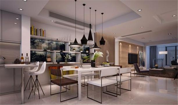 简约 三居 收纳 餐厅图片来自日升装饰公司在130平米简约实用家居的分享