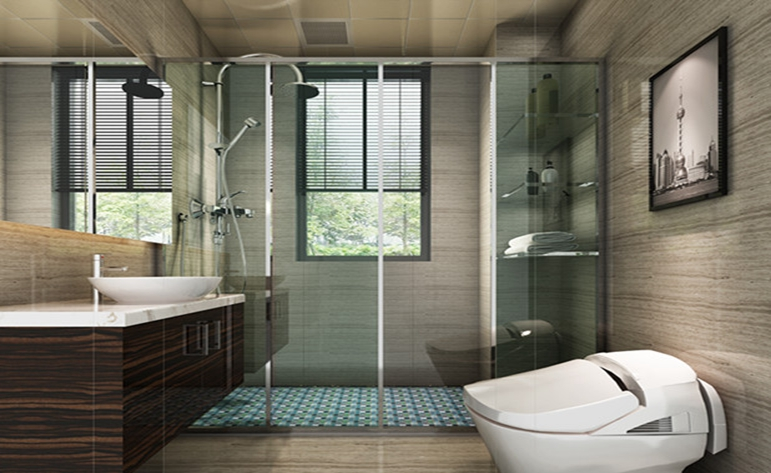 简约 现代 二居 卫生间图片来自居众装饰WX在融创熙园-现代简约风格-90㎡的分享