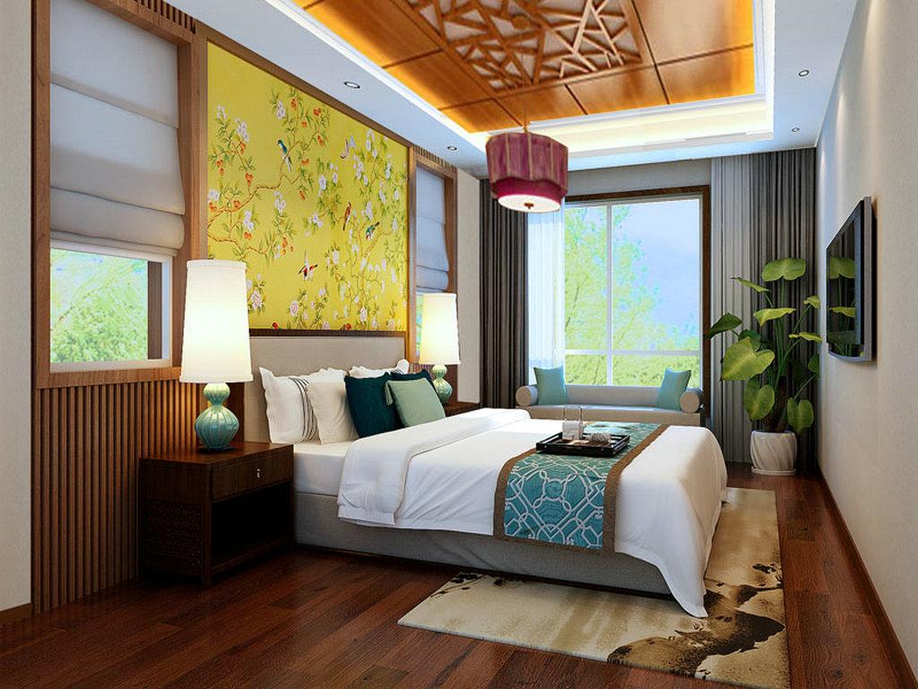 卧室图片来自业之峰装饰旗舰店在独到品味的分享
