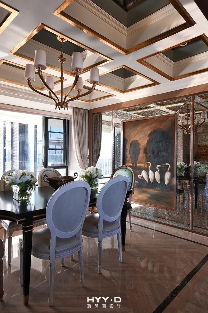餐厅 餐厅图片来自郑鸿设计师在御墅临风--卓越维港名苑室内设计的分享
