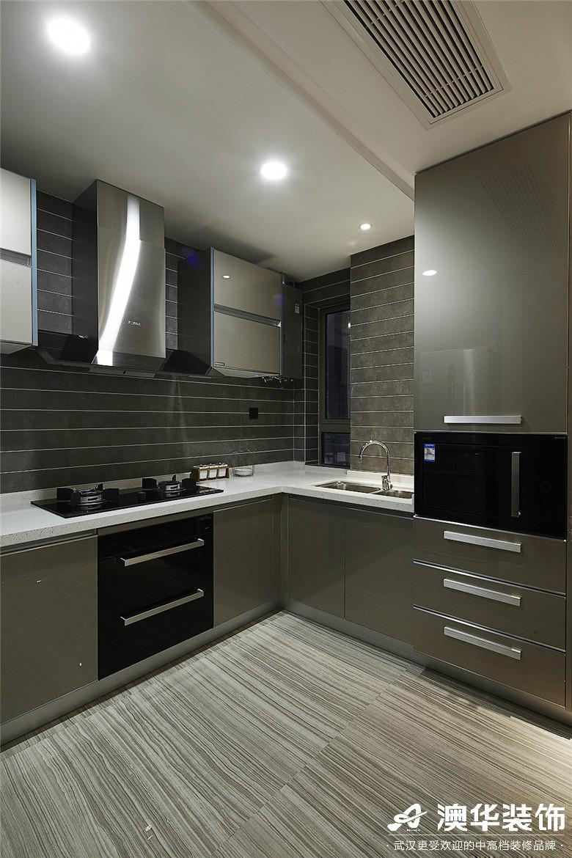 厨房图片来自澳华装饰有限公司在世茂林屿岸·现代风格的分享