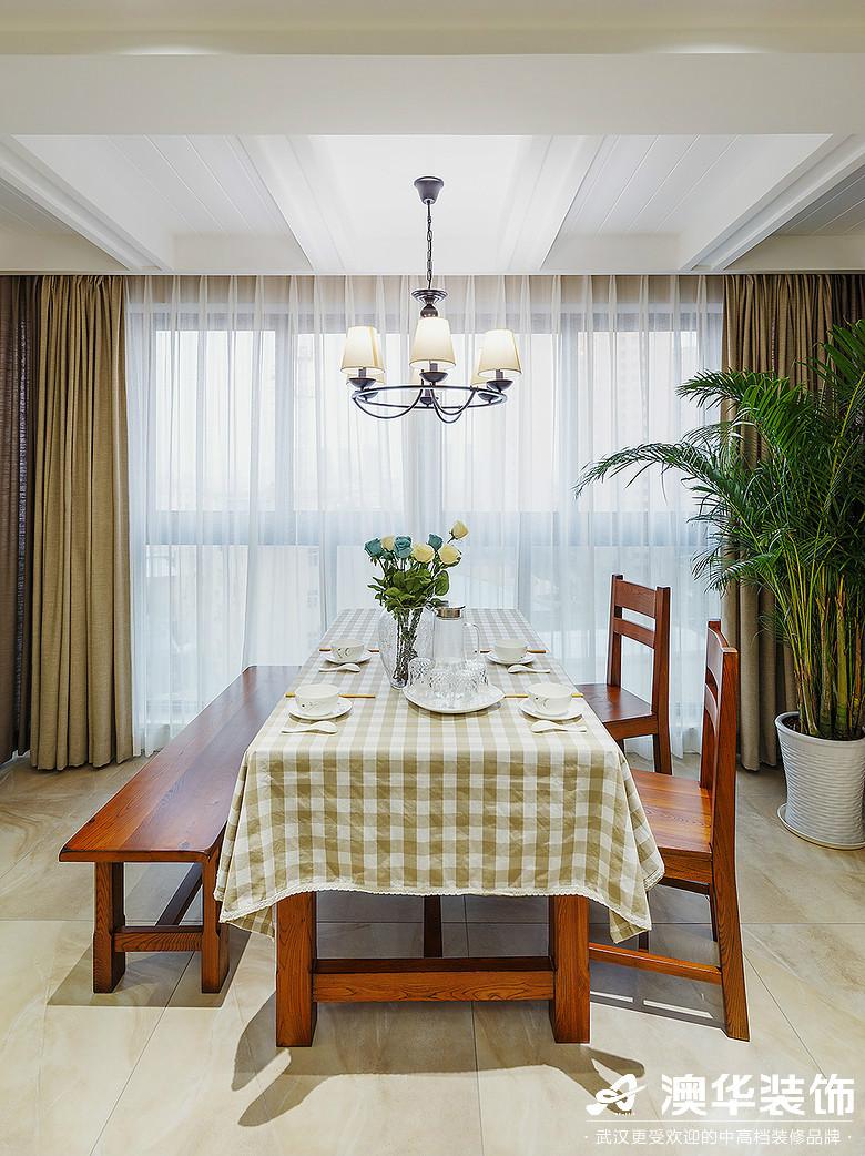 餐厅图片来自澳华装饰有限公司在海伦春天·加州阳光的分享