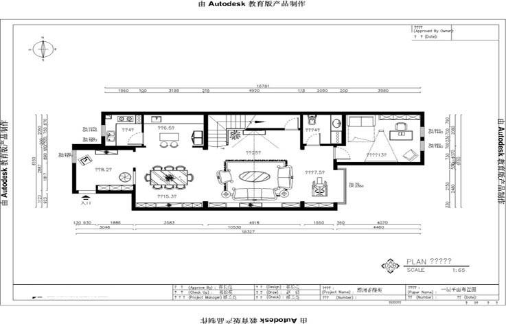 装修 设计 家装 欧式 三居 户型图图片来自张邯在高度国际-蔚蓝香醍的分享