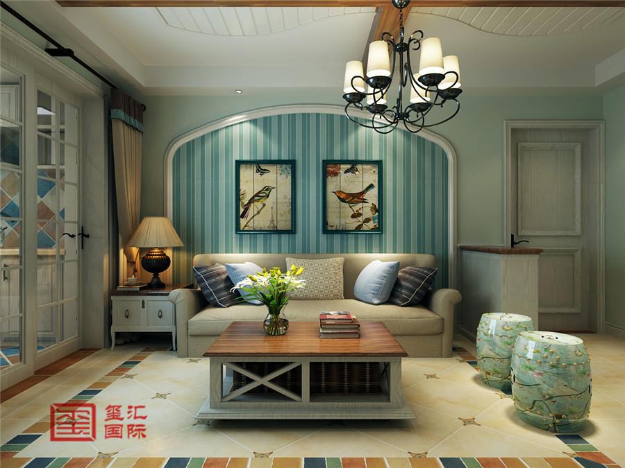美式风格 玺汇国际 石家庄装修 客厅图片来自河北玺汇国际装饰公司在西苑小区110平美式风格的分享