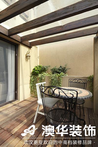 阳台图片来自澳华装饰有限公司在楚天都市沁园·现代风格的分享