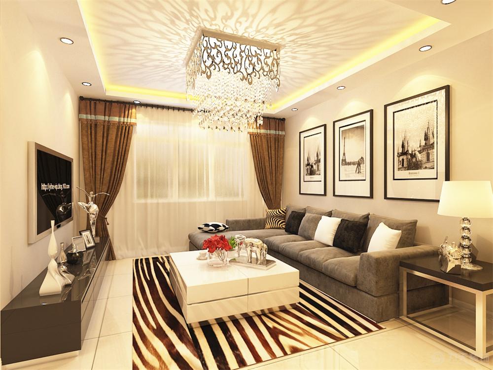 客厅图片来自阳光力天装饰在现代简约   润淼佳苑  90㎡的分享