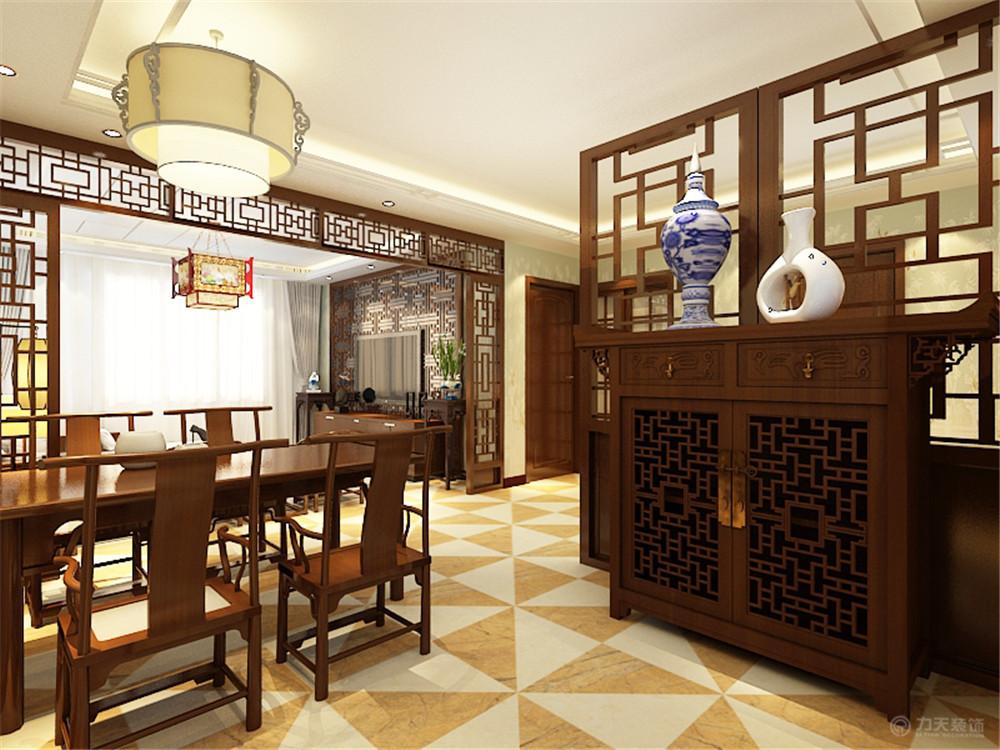 餐厅图片来自阳光力天装饰在中式风格  智造创想城 72㎡的分享