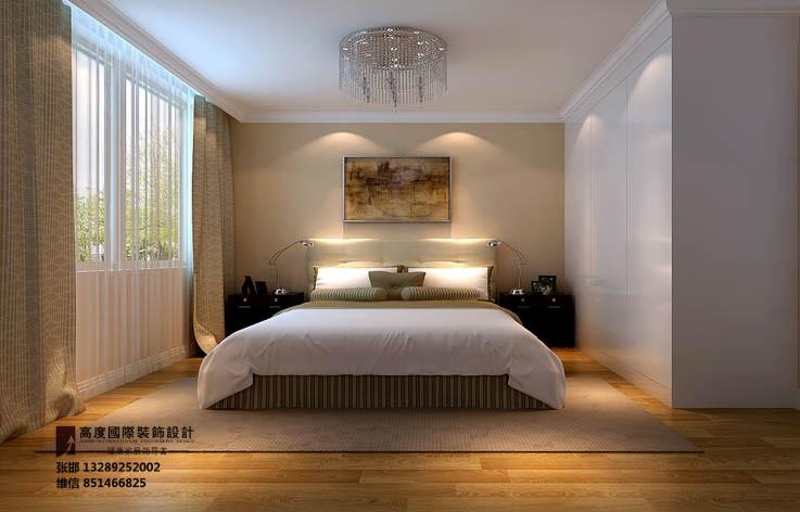 设计 家装 装修 简约 三居 卧室图片来自张邯在高度国际-金谷香俊的分享