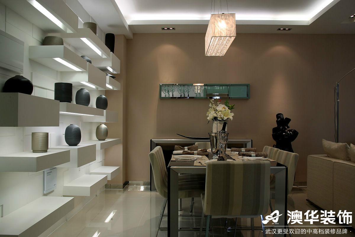 餐厅图片来自澳华装饰有限公司在万达御湖世家·现代风格的分享