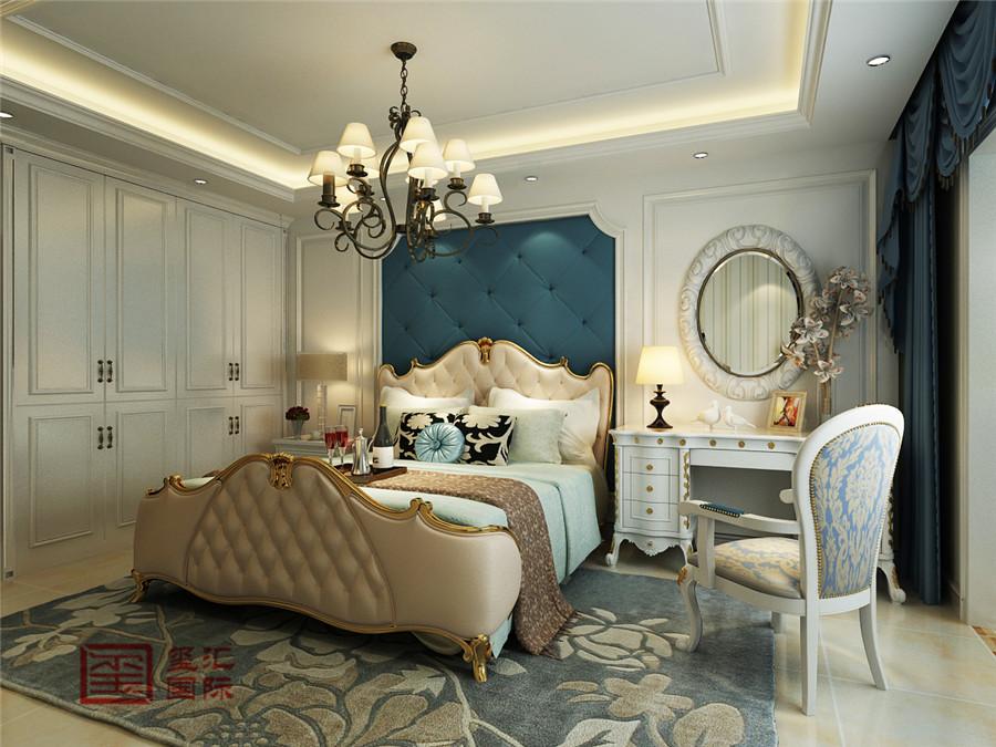 美式风格 玺汇国际 石家庄装修 卧室图片来自河北玺汇国际装饰公司在西苑小区110平美式风格的分享