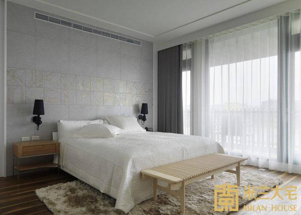 小资 北欧 收纳 卧室图片来自米兰大宅设计会所在经典北欧的分享