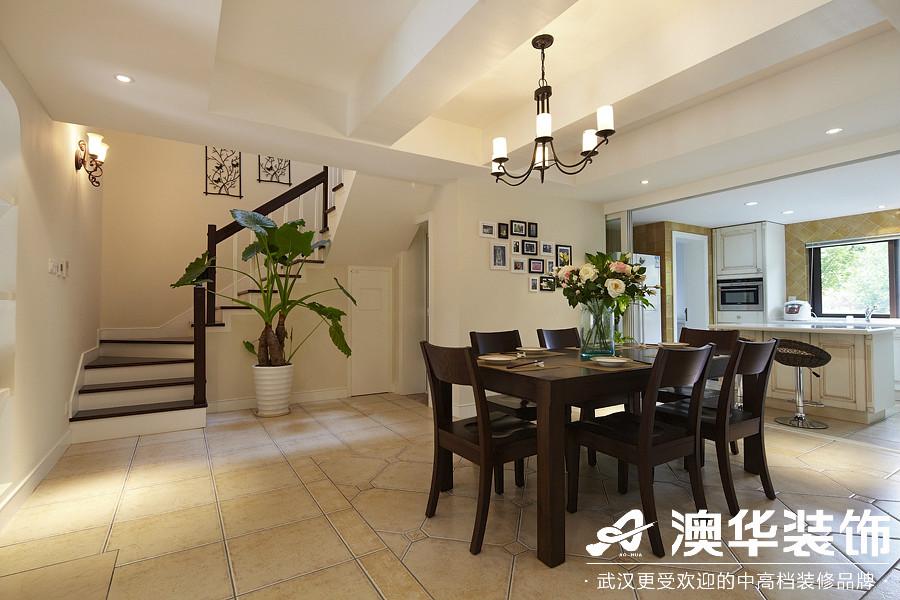 餐厅图片来自澳华装饰有限公司在楚天都市沁园·现代风格的分享