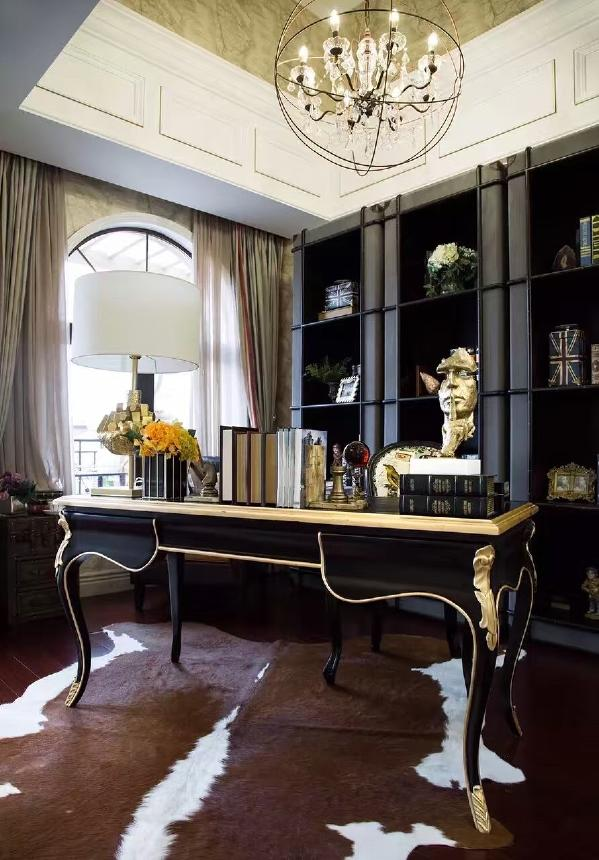 别墅装修欧式风格设计,书房装修设计