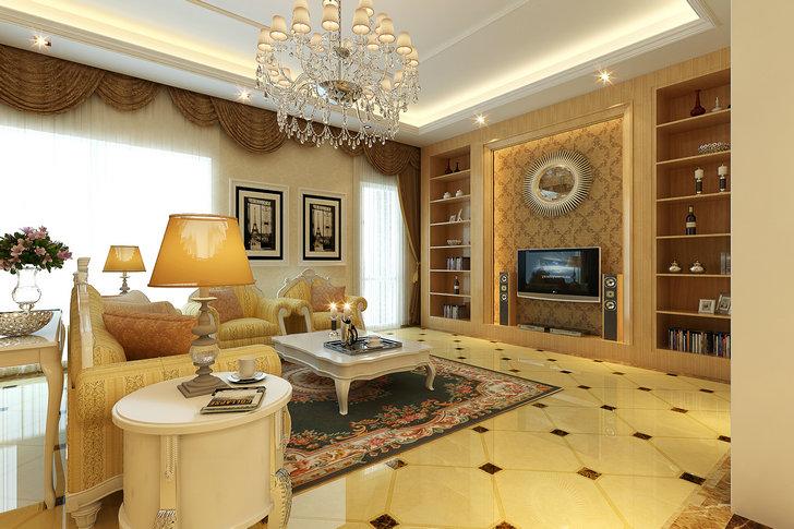 客厅图片来自业之峰装饰旗舰店在雅韵情怀的分享