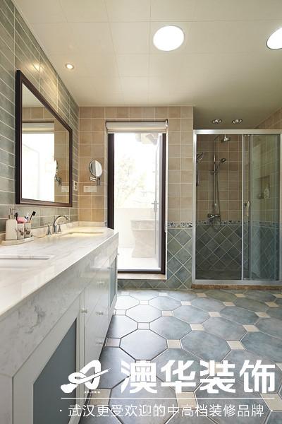 卫生间图片来自澳华装饰有限公司在楚天都市沁园·现代风格的分享