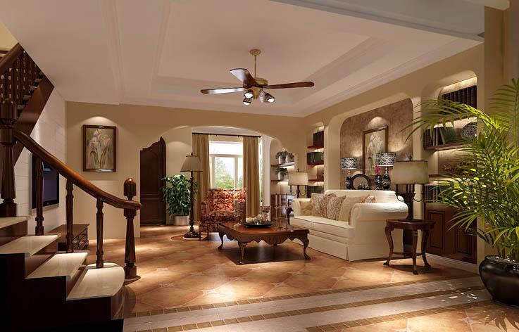 装修 设计 家装 欧式 三居 客厅图片来自张邯在高度国际-蔚蓝香醍的分享