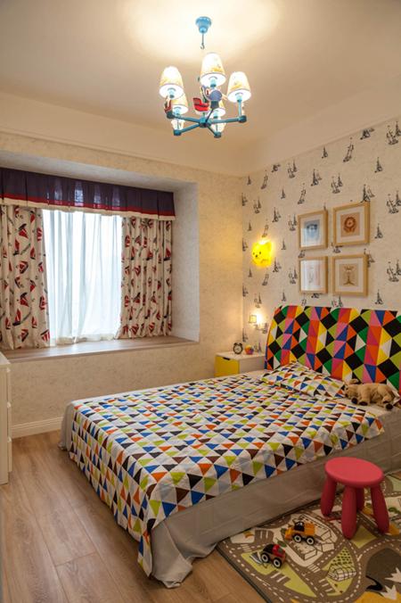 简约 卧室图片来自西安业之峰装饰在缤纷南郡124  简约风格的分享