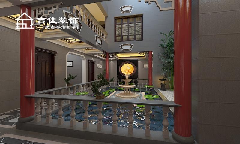 巢湖私人度 装修设计 装修施工 合肥装修 效果图 老 欧式 客厅图片来自合肥吉佳装饰在巢湖私人度假村别墅的分享