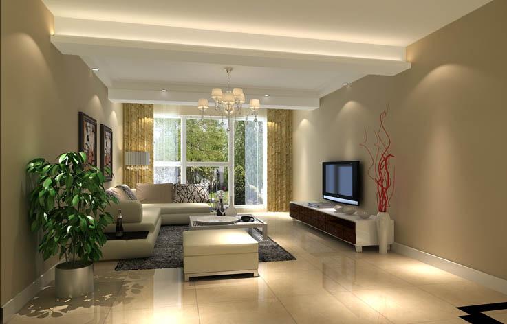 装修 设计 家装 二居 简约 客厅图片来自张邯在高度国际-中海城的分享