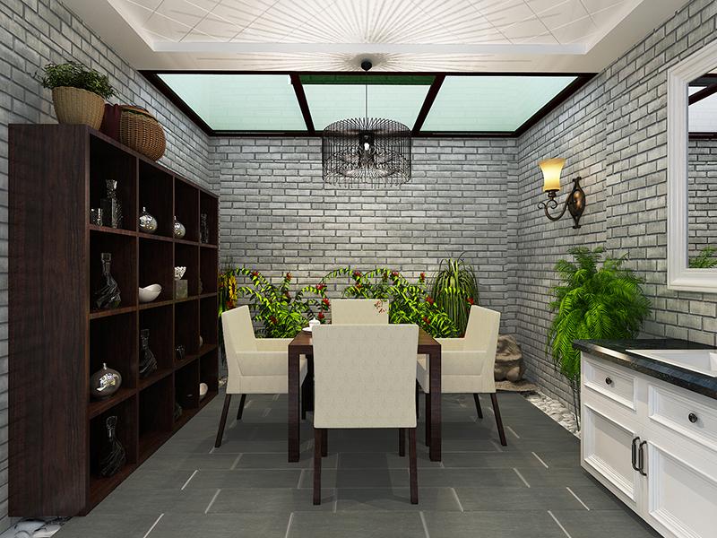 客厅图片来自业之峰装饰旗舰店在温情loft的分享