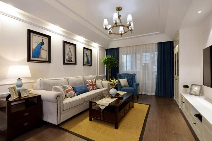 简约 客厅图片来自西安业之峰装饰在缤纷南郡124  简约风格的分享