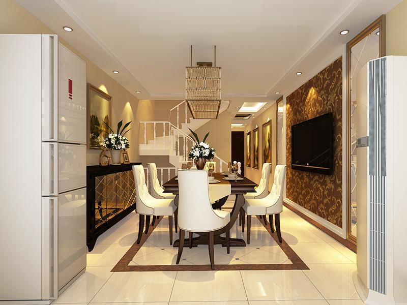 餐厅图片来自业之峰装饰旗舰店在温情loft的分享