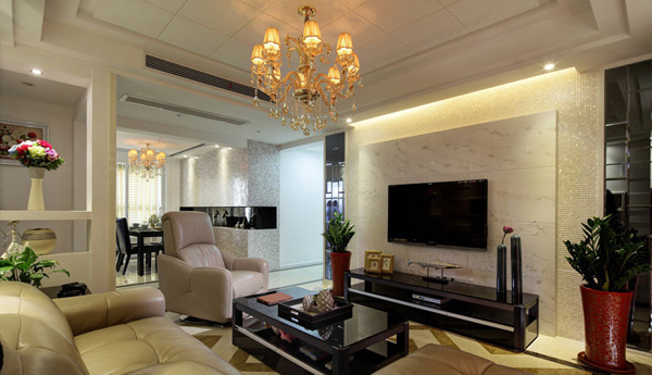 现代 客厅图片来自北京大成日盛装饰设计在现代 二手房 大成装修案例欣赏的分享