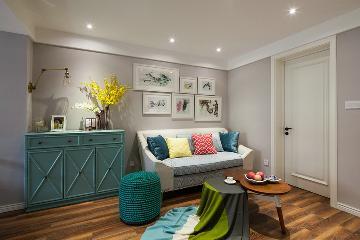 海域笙辉两室两厅74平简美风格