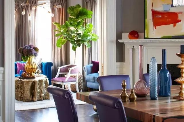 简约 欧式 田园 混搭 二居 三居 别墅 白领 收纳 客厅图片来自实创装饰晶晶在大胆配色美翻105㎡两居室的分享