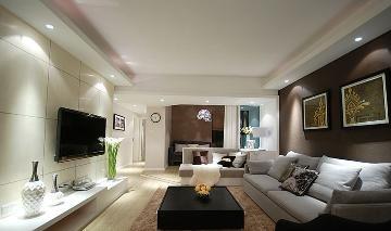 简约 三居室 大成装修案例欣赏