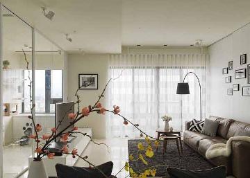 爱博二村99平北欧风格一居室装修