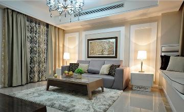 现代 三居室 大成装修案例欣赏