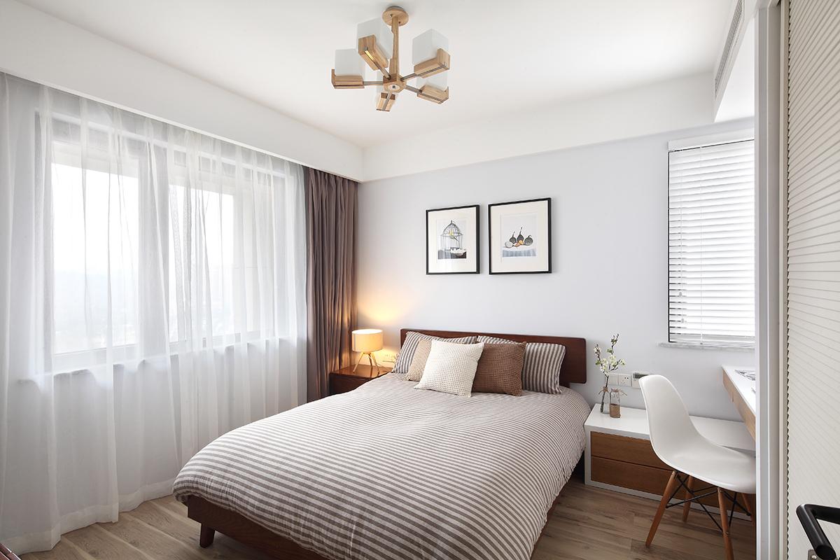 简约 二居 白领 日式 北欧 卧室图片来自二十四城装饰重庆分公司在重庆装修公司:蓝光Coco的分享