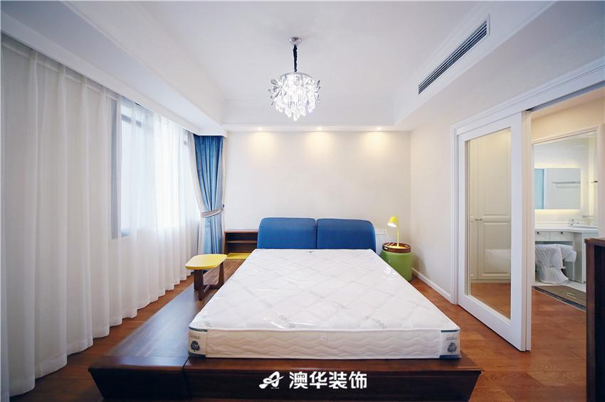 欧式 北欧 四居 白领 收纳 80后 卧室图片来自澳华装饰有限公司在清江泓景·解密浪漫北欧风的分享