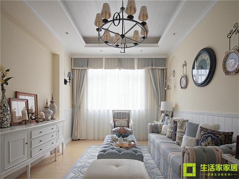 别墅 白领 80后 小资 生活家家居 地中海 地中海风格 大宅 客厅图片来自天津生活家健康整体家装在万科东丽湖193的分享