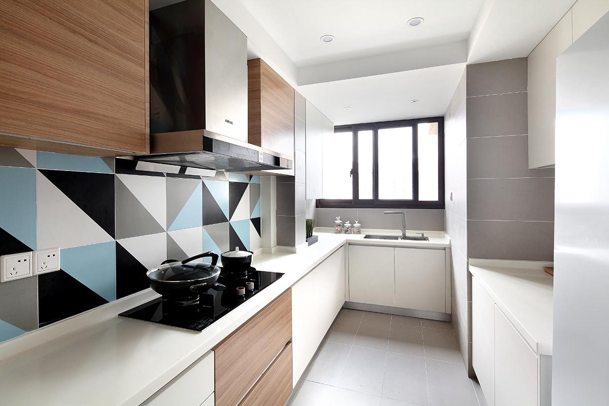 简约 二居 白领 日式 北欧 厨房图片来自二十四城装饰重庆分公司在重庆装修公司:蓝光Coco的分享